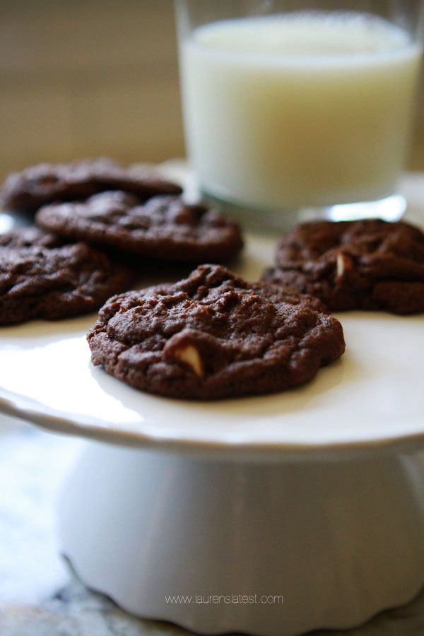 1000+ ideas about Triple Chocolate Cookies on Pinterest | Chocolate ...