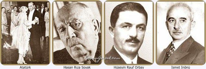 Atatürk'ün Dostları | Yakın Çalışma ve Silah Arkadaşları - Forum Gerçek