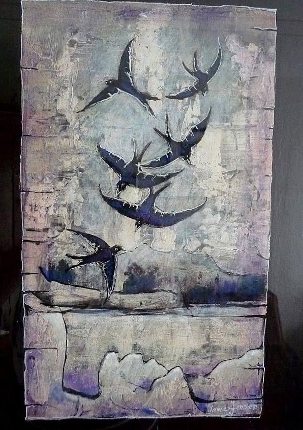 bilder malt med akrylmaling