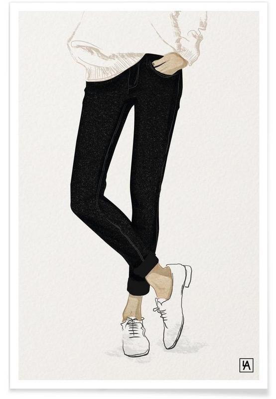 BB Shoes als Premium Poster von Andriana Chunis | JUNIQE