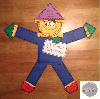 Miss Bunny's Hoppenings: Free Scarecrow craft---Oodles of cuteness