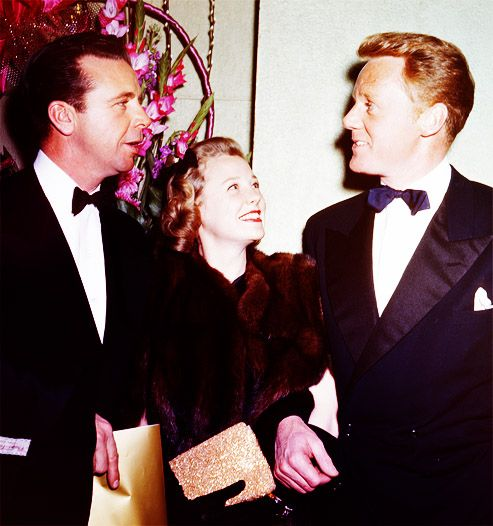 June Allyson, Dick Powell, Van Johnson