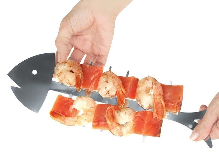 Halszálka alakú nyárs húsok, zöldségek sütéséhez. Készíts...-Akciós ár:790 Ft
