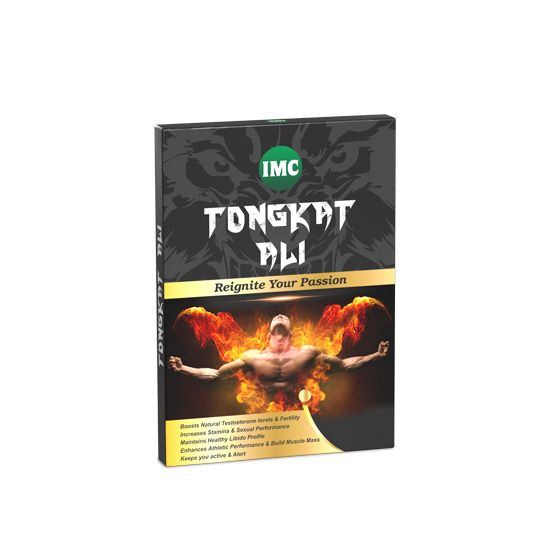 Imc Tongkat Ali Supplement For Increase In Stamina And Delay In