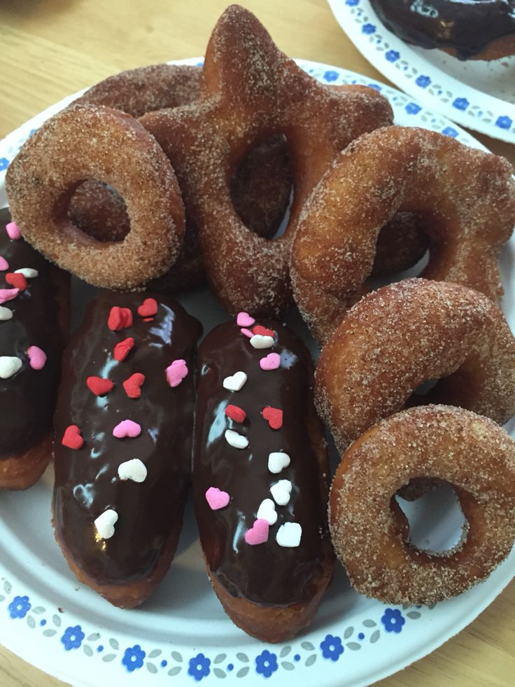 Homemade donuts made by kids#littlebakers