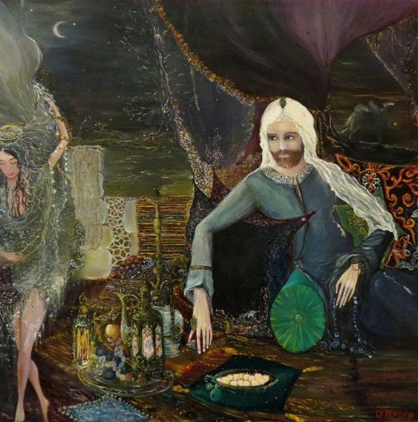 """Дина Розен: Рождение легенды Дина Розен воплощает свои грезы и мечтания, оставляя концептуальные и фундаментальные аспекты картины мира """"серьезным"""" художникам. Проникаемся беззаботностью и негой - уделом коллекционеров приятностей.) http://art-facts.livejournal.com/48635.html"""