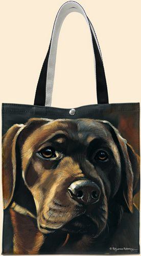 Chocolate Lab Tote