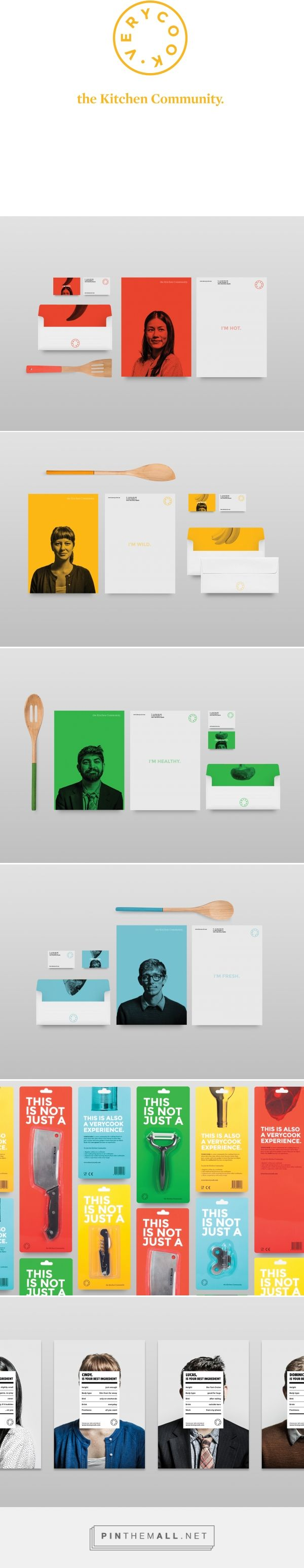 Verycook on Behance... - a grouped images picture - Pin Them All