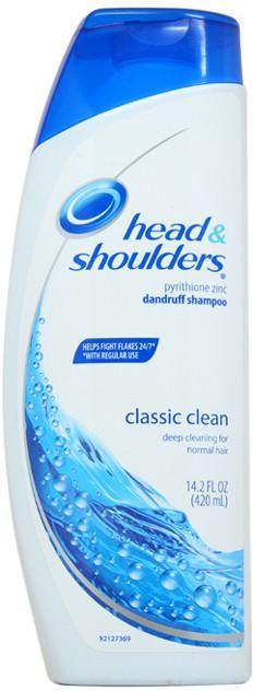 Head & Shoulders Classic Clean Dandruff Shampoo 14.2 oz - 1 Units