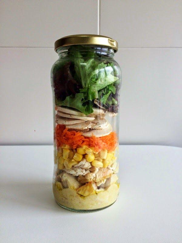 El truco que debes conocer para llevar las ensaladas al trabajo