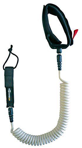 Bic Sport Adult 11Βft 31782ΒPaddle SUP Coil Leash, White/Black, M…