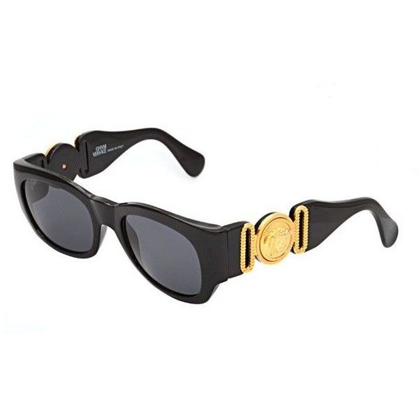 VINTAGE VERSACE SUNGLASSES MOD 413/A COL 852 ❤ liked on Polyvore featuring accessories, eyewear, sunglasses, mod glasses, vintage eyewear, versace sunglasses, vintage glasses and versace sunnies - Sale! Up to 75% OFF! Shop at Stylizio for women's and men's designer handbags, luxury sunglasses, watches, jewelry, purses, wallets, clothes, underwear