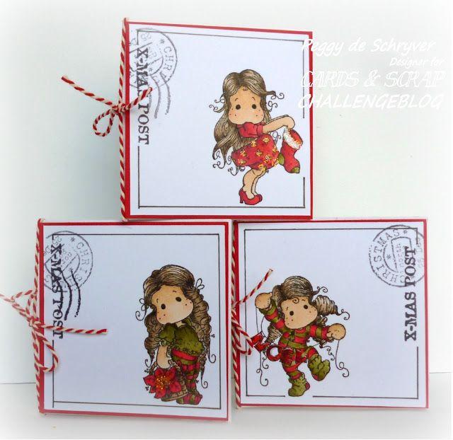 Cards en Scrap Challengeblog: Kaartenuitdaging 248 - Ienieminie kaartjes...