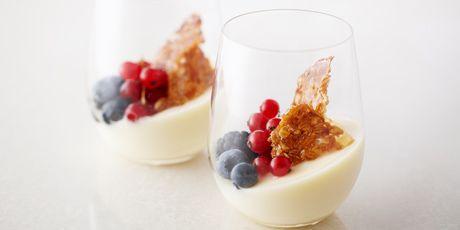 Icewine Crème Brûlée (Egg-Free) / Anna Olson