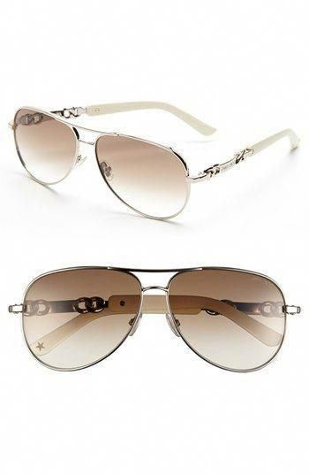 340ebe51bb1d8 Jimmy Choo 59mm Aviator Sunglasses available at  Nordstrom  JimmyChoo