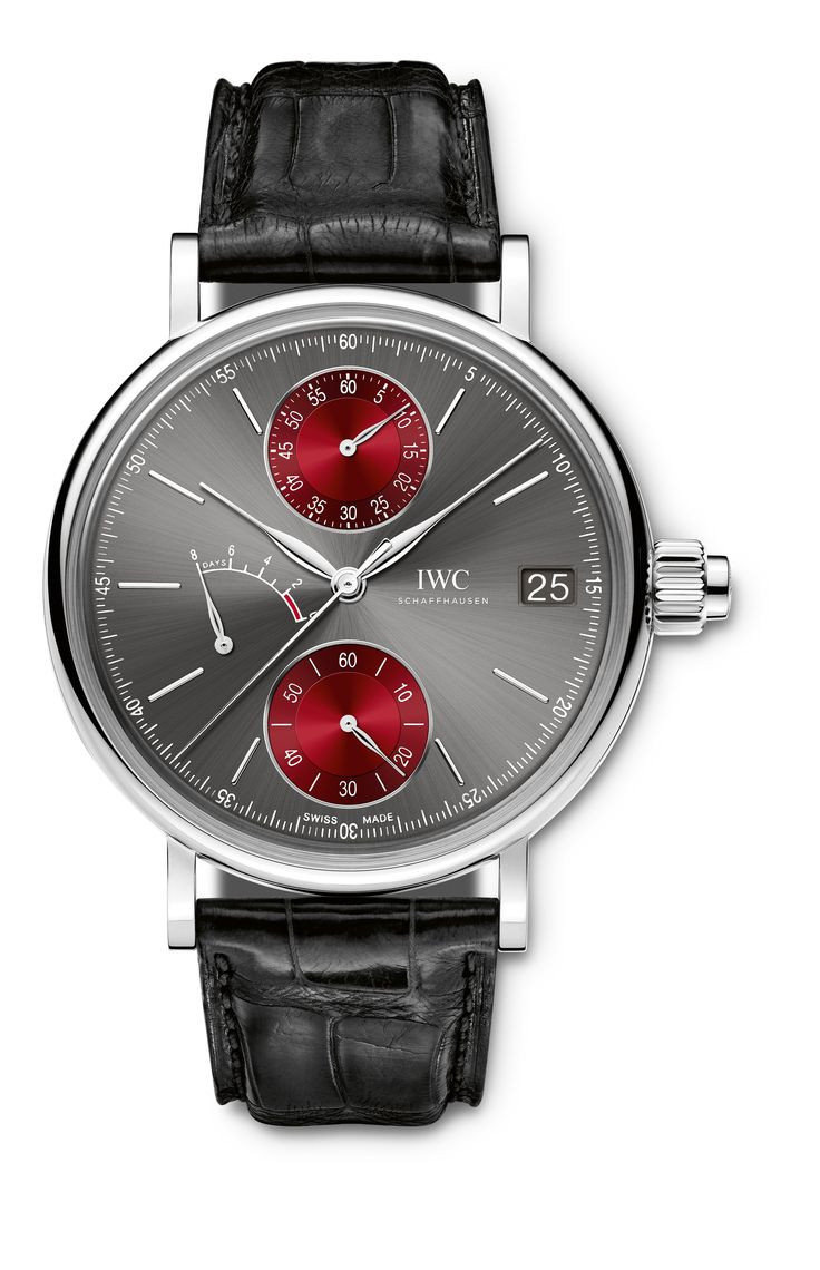 """Portofino Monopusher Edition """"TRIBECA FILM FESTIVAL 2015"""" Unique Piece (Ref. IW515105) - interested buyers from all over the globe can bid on the one-of-one timepiece by visiting www.christies.com/iwctribeca"""