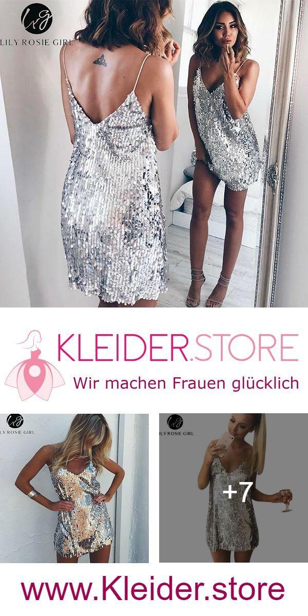 Festliche Paillettenkleider günstig Online kaufen – jetzt bis zu -87% sparen – Kleider.store