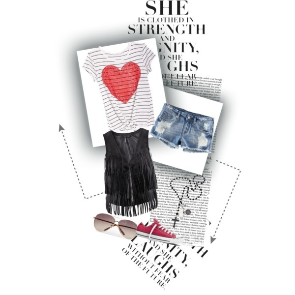 Retro Fun, created by assignmentfashion on Polyvore