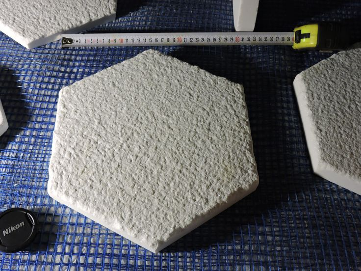 Greek marble tile hexagon white of thassos  28cm  side to side (approx 11 in) by 3cm (1,18 in) nonslip surface athanasmarble@gmail.com