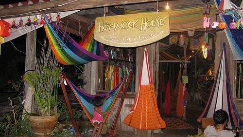 my favorite hammock from a sea gypsy village, koh lanta, thailand.