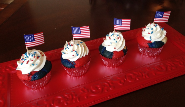 memorial day cupcakes ideas