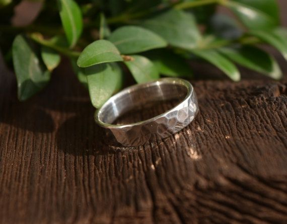 #MensRingBand #WeddingRing #MensHammeredRing #SterlingSilverRing #HammeredSilverRing #TexturedRingBand #MensBand #SilverBand #HammeredRing #MensRing