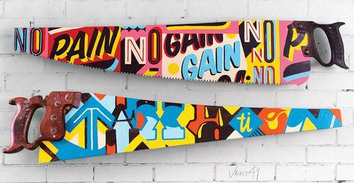 no pain, no gain #design #type: Wall Art, Diy Ideas, Hands Paintings, Art Sculpture, Inspiration, Around The World, Blog Design, Typography, Design Studios