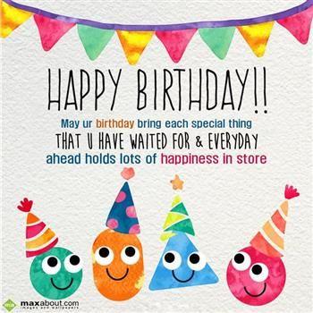 Birthday Greetings: Happy Birthday!! Ma