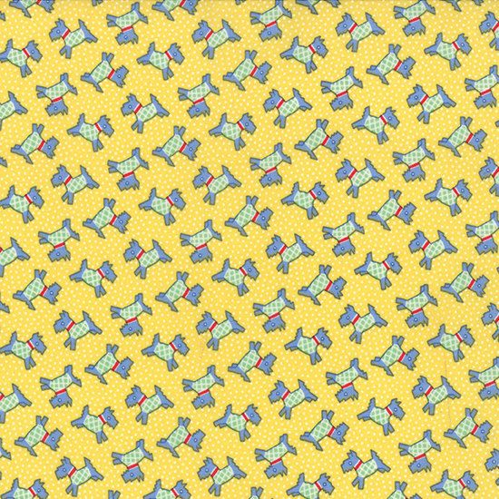 Hey, I found this really awesome Etsy listing at https://www.etsy.com/listing/185247821/30s-playtime-2-scotties-in-30s-yellow-by