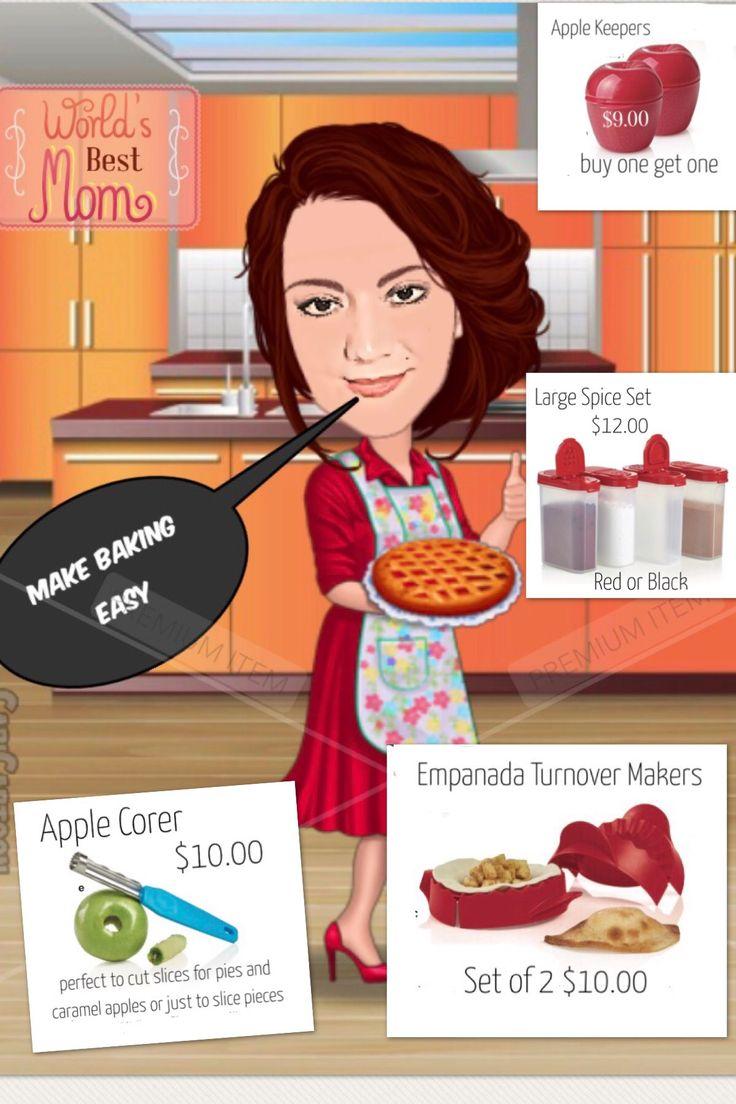 Holiday baking with Tupperware specials #tupperware #baking #holidays
