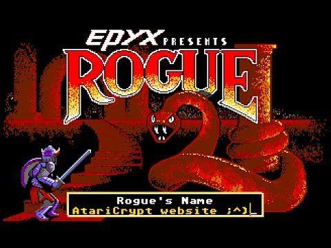 Atari ST Crypt: Rogue