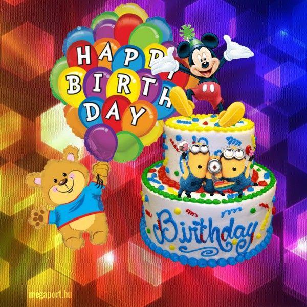 Happy Birthday Birthday Cute Happy Birthday Birthday Cartoon