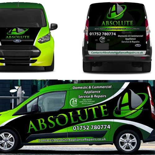 Bold van wrap to knock the competition out of the water ontwerp door pimpyourride