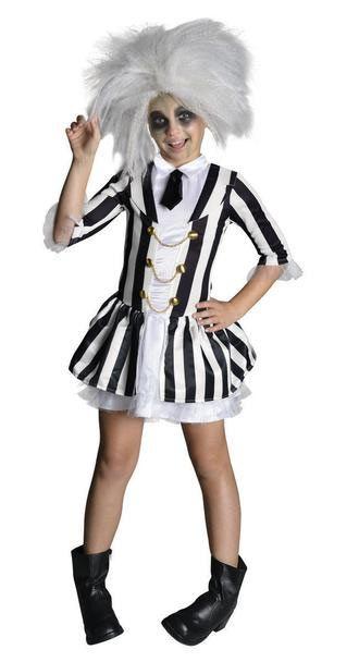 Disfraz niña Beetlejuice, deluxe  Ponte con este Disfraz el vestido de gala de Beetlejuice el desaliñado protagonista de la película.