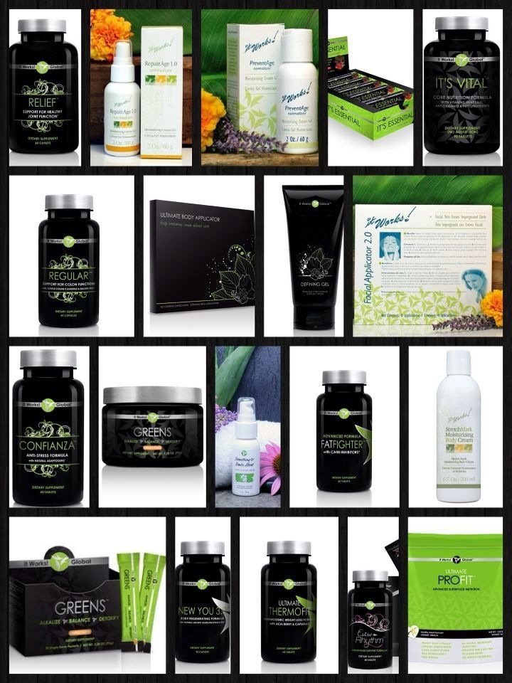 Great products from It Works! www.LeeAnnD.myitworks.com