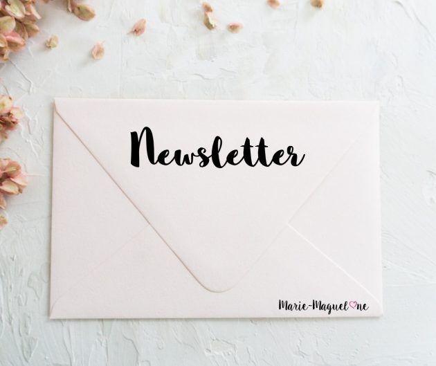 Newsletter Marie-Maguelone - Abonnez-vous !
