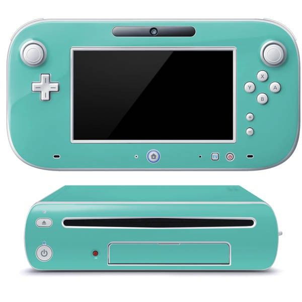 Turquoise Wii U (Console + 1 Controller) Skin