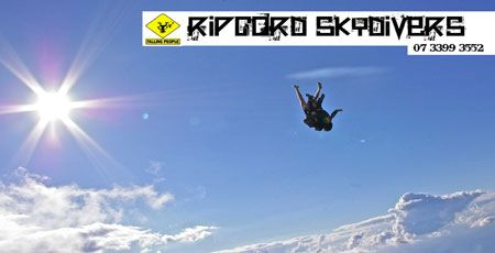 www.Ripcord-Skydivers.com.au - Skydive Brisbane, Skydiving Licence