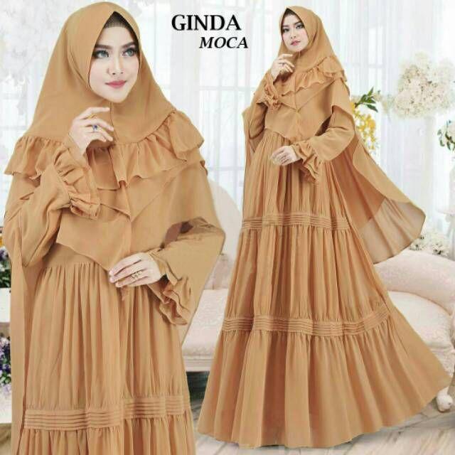 Baju Gamis Terbaru 2019 Di Shopee Baju Muslim Wanita Muslim