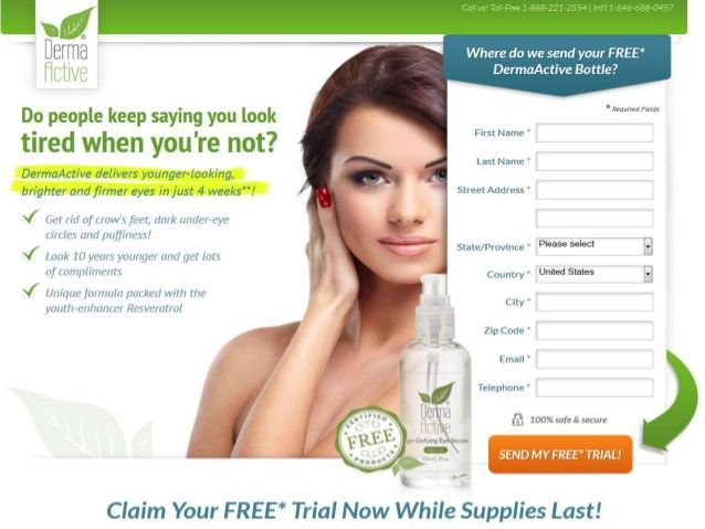 Free Trial Derma Active Cream  - Best Skin Care Products of 2014 by BestFreeTrials2014 via slideshare