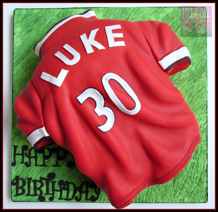 How To Make A Manchester United Football Shirt Cake