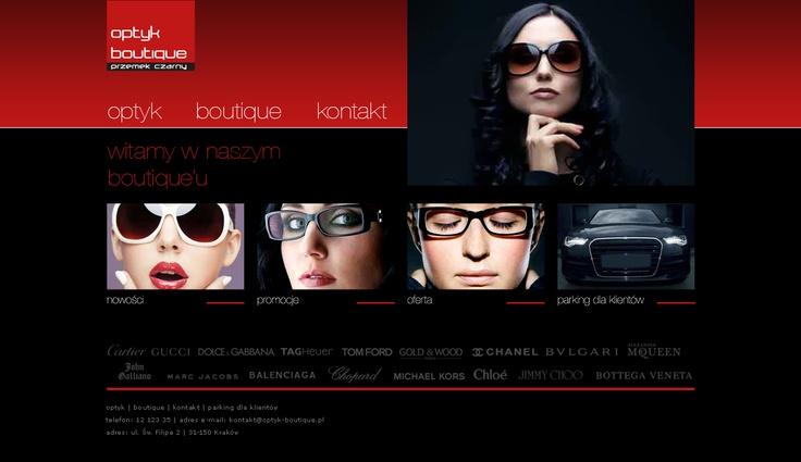 optyk boutique website - v2