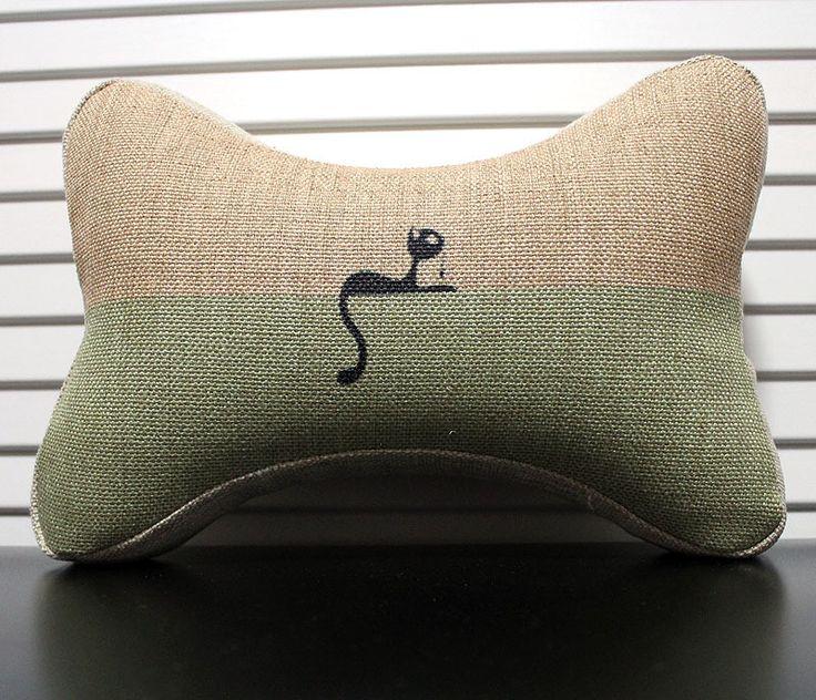 Sectional Sofa Plain Cat Pattern Bone Shape Pillow Car Seat Neck Pillow Memory Foam Car Travel Neck Support Pillow Buy Car Pillow Car Seat Neck Pillow Memory Foam Car