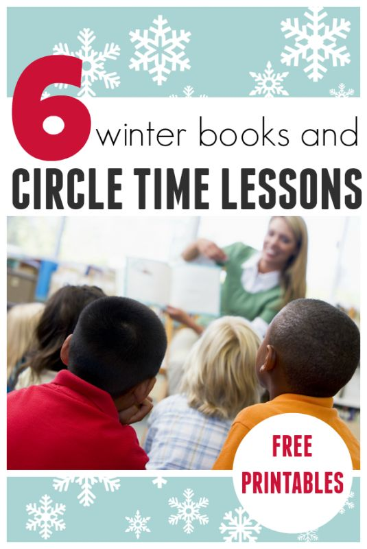 6 Awesome Winter Books & Circle Time Lesson Plans For Preschool - No Time For Flash
