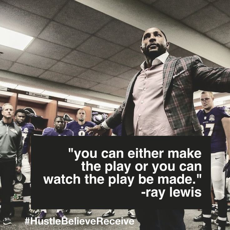 Ray Lewis is such an inspiration. I love watching him motivate others <3 #bmore