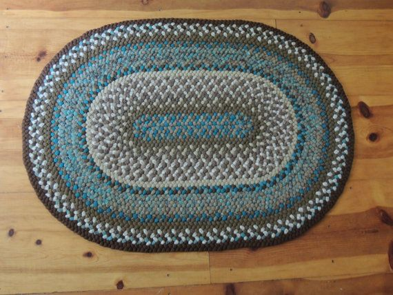 100 Wool Completely Handmade Braided Rug By Heritagebraiding 220 00