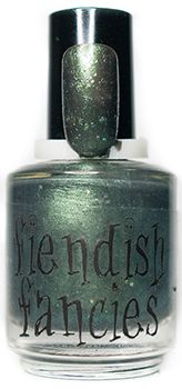 F.1-01: I Can Feel Myself Rot ~ Curses & Creatures collection by Fiendish Fancies ~ 5-Free, vegan, cruelty-free Nail Lacquer hand-poured in Canada