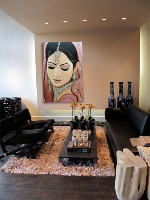 Prachtig schilderij van frank wagtmans een mooie zachtroze kleur zorgt naast een rustgevende - Kleur schilderij slaapkamer volwassenen ...