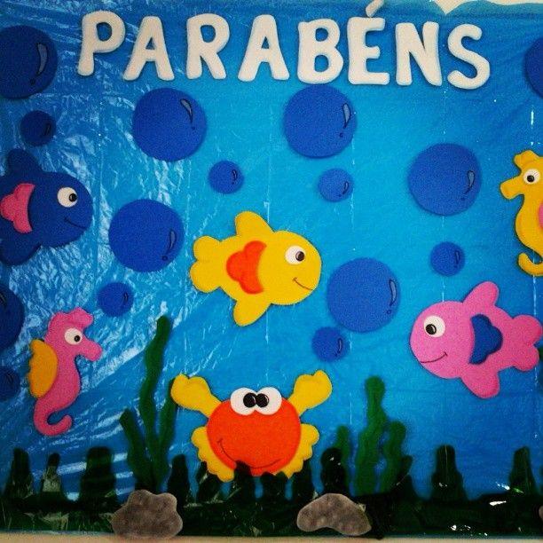 Painel de EVA Fundo do Mar