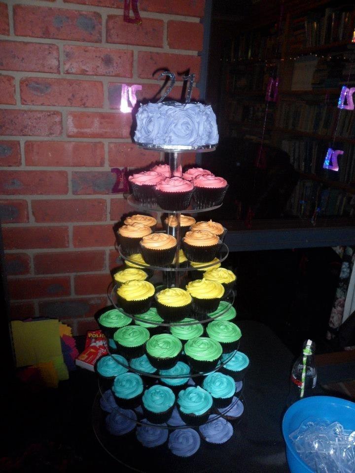 The Rainbow birthday cake